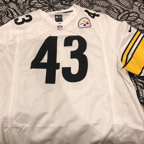 2d657f7f594 Troy Polamalu Pittsburgh Steelers Nike Jersey